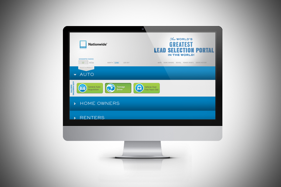 Allant Web App for Nationwide Insurance