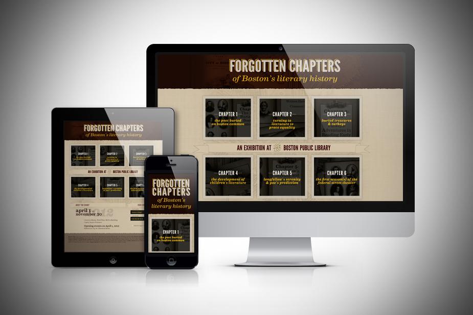 Responsive Exhibit Website UI Design