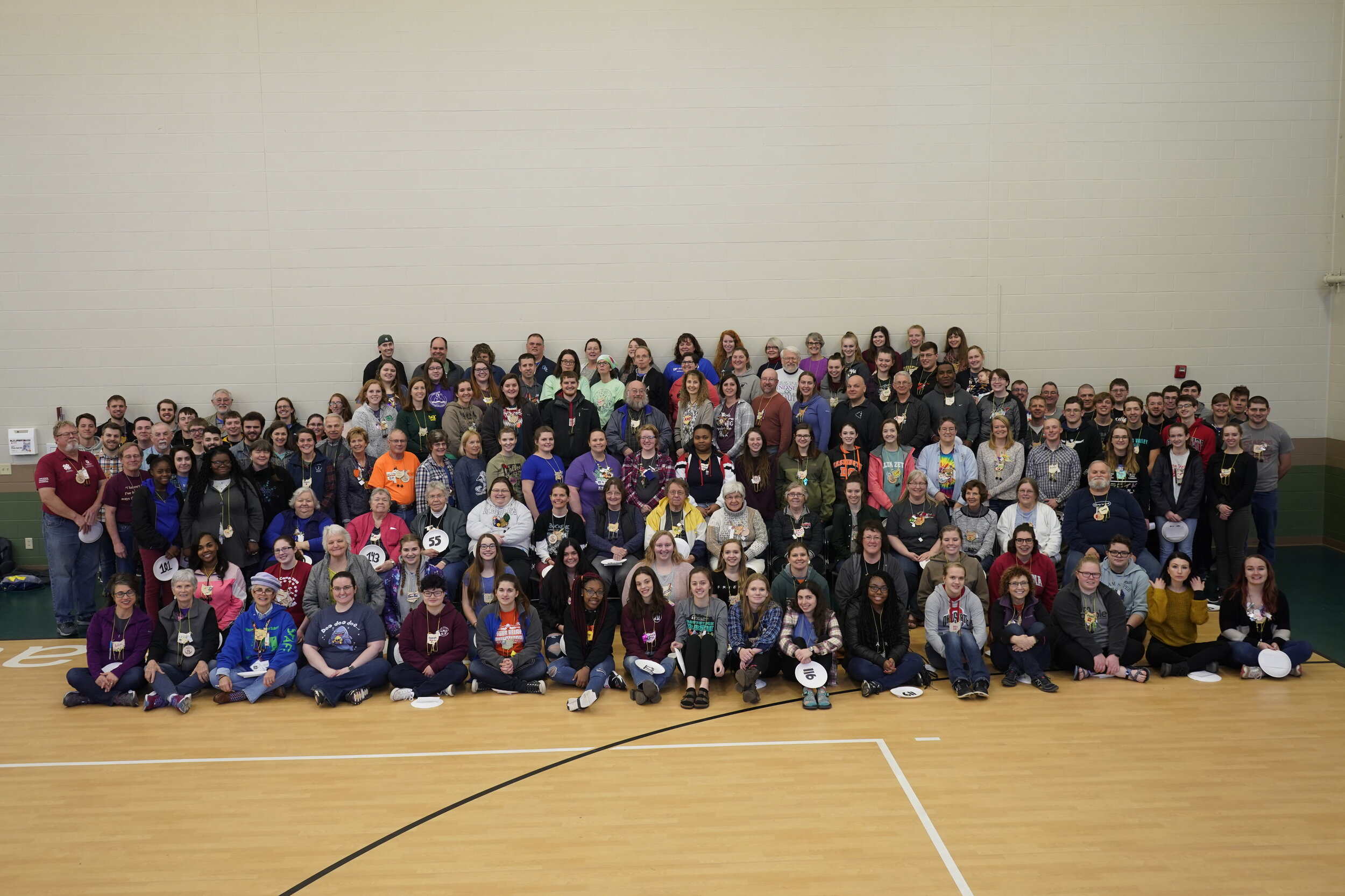 Look at all those smiling faces :) (Click on image to enlarge)