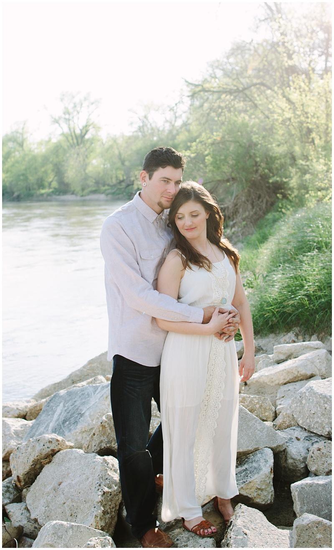 iowa wedding engagement photographer