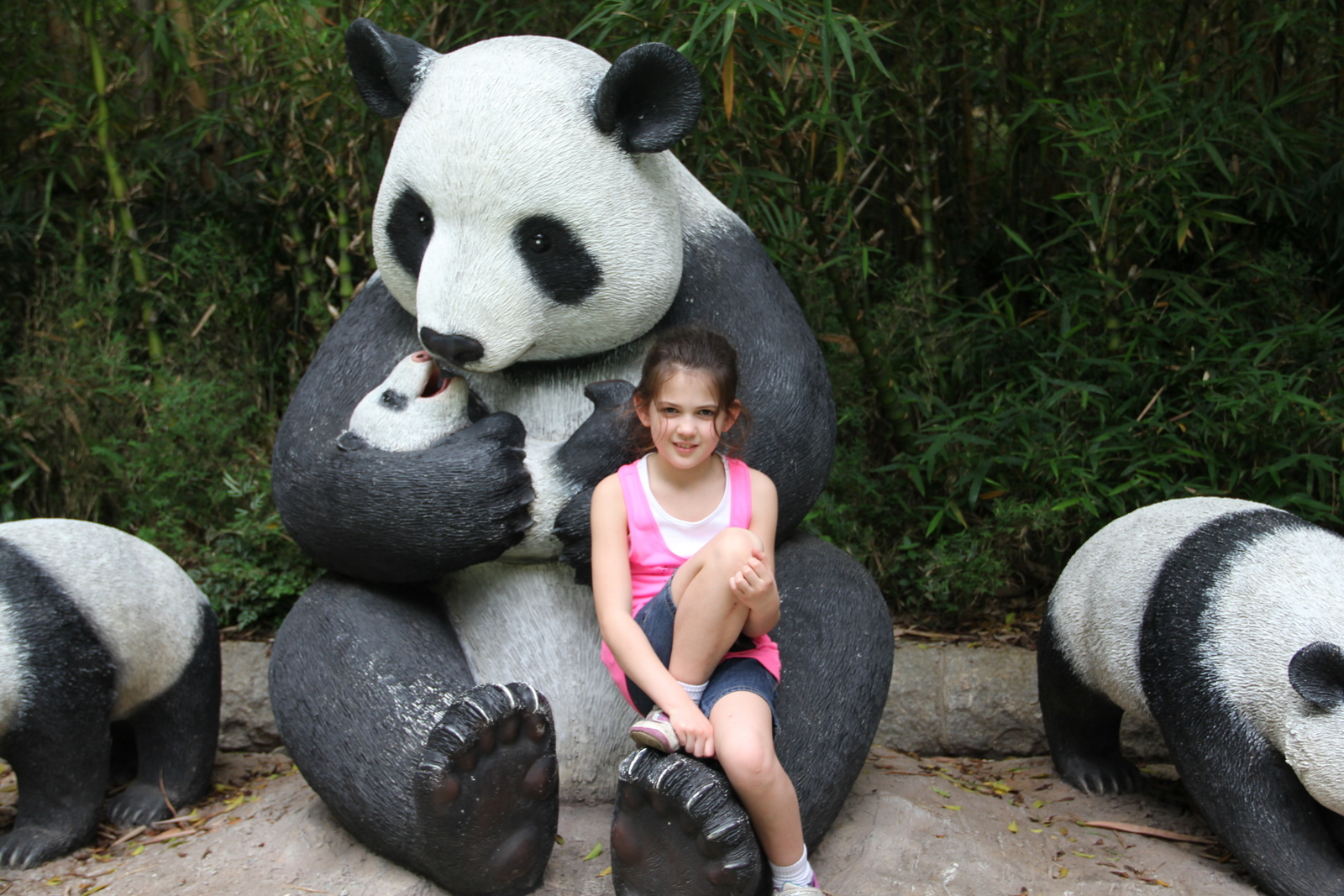 Entering the Panda land. This was one of the highlights too!
