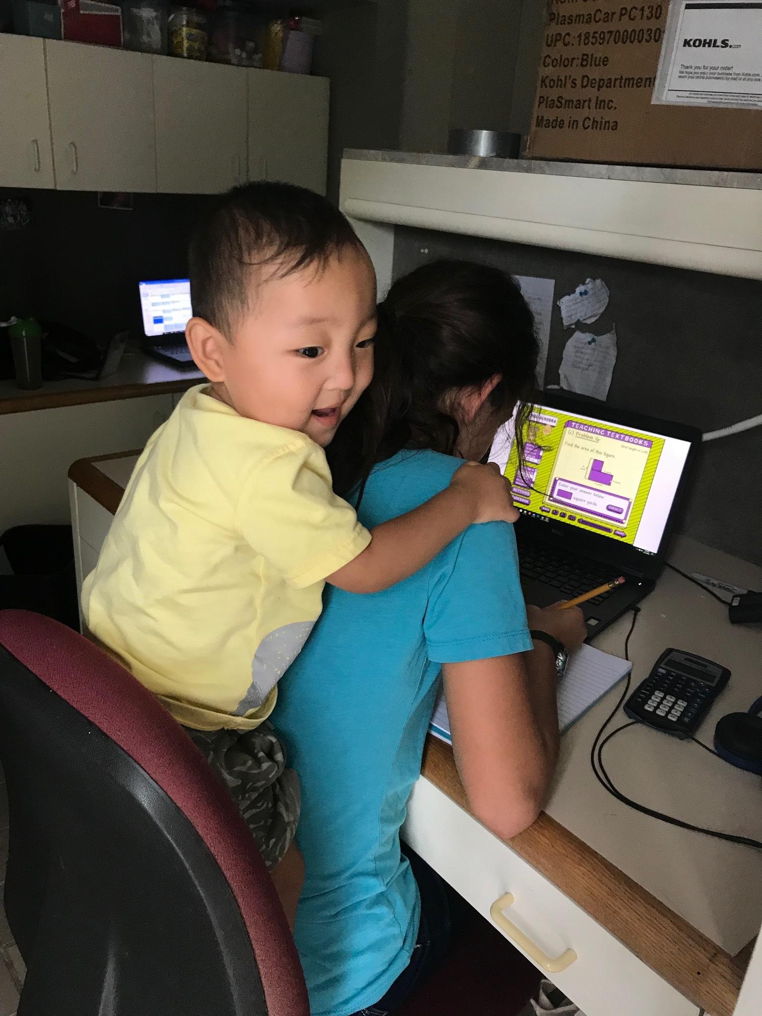 Abigail's math assistant