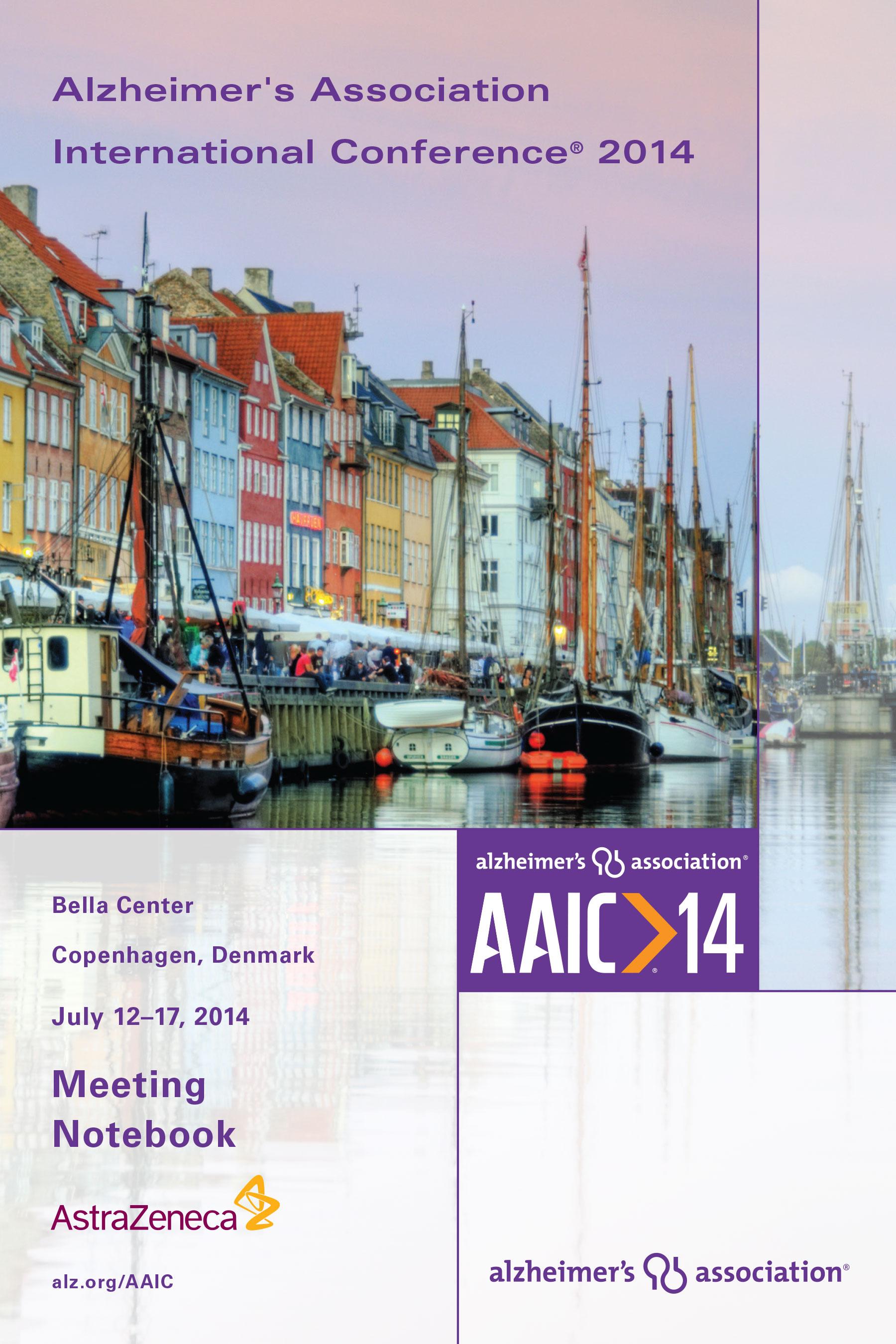 AAIC14 MEETING NOTEBOOK
