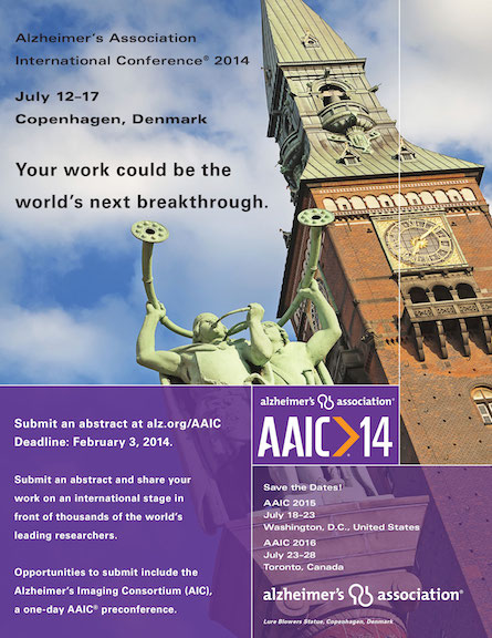 AAIC14 ABSTRACT ADVERTISEMENT