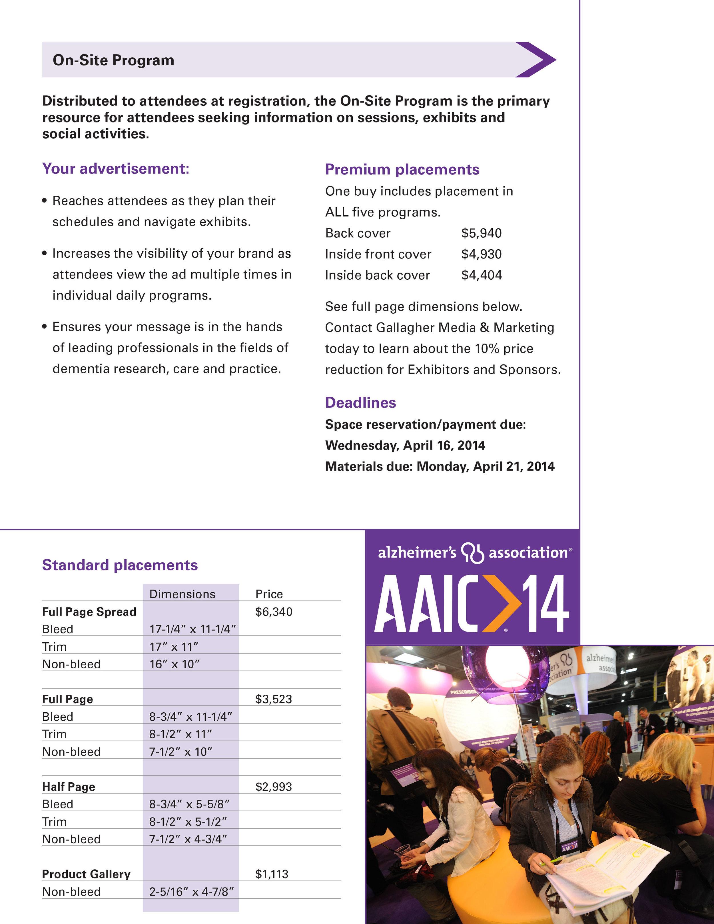 AAIC14 AD RATE CARD