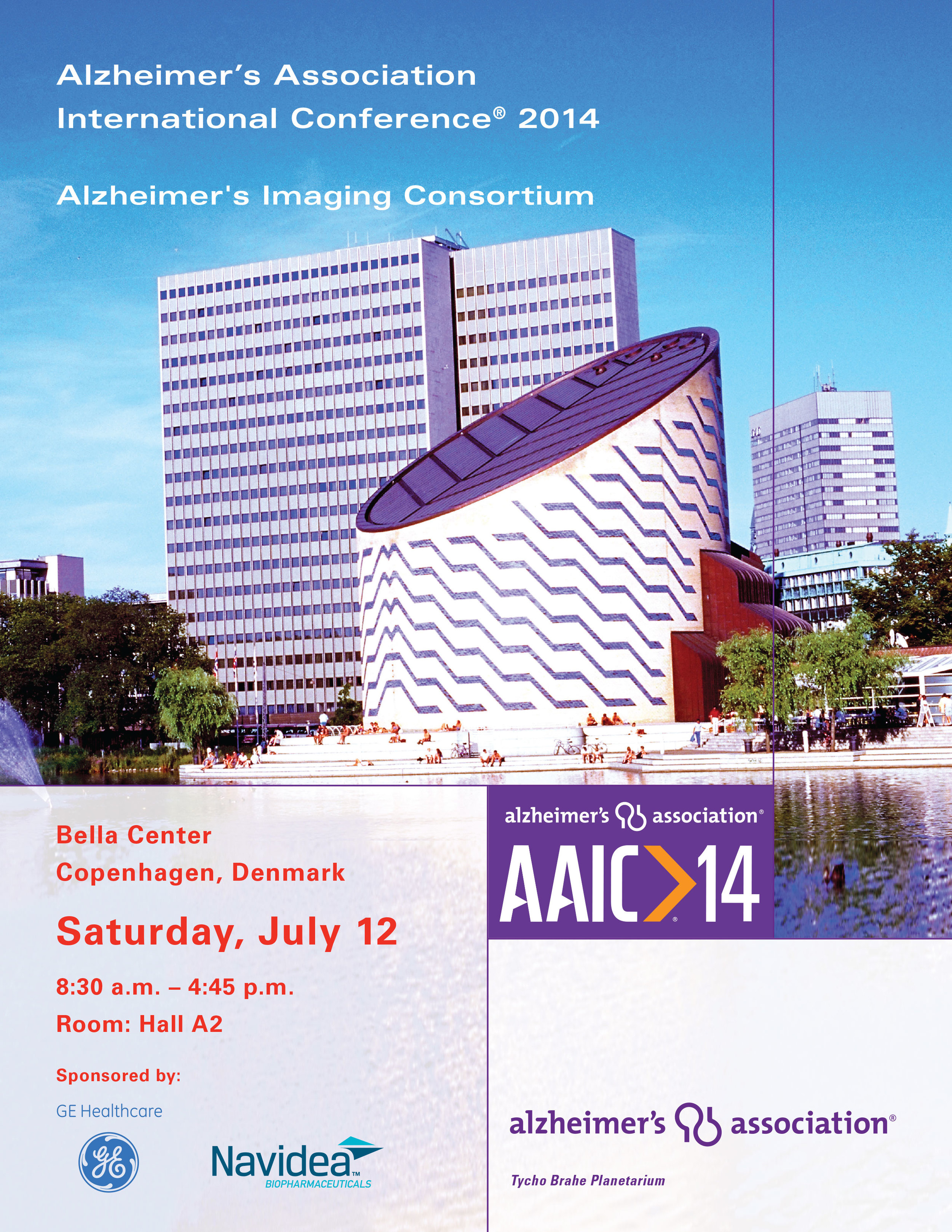AAIC14 ALZHEIMER'S IMAGING CONSORTIUM PROGRAM BOOK