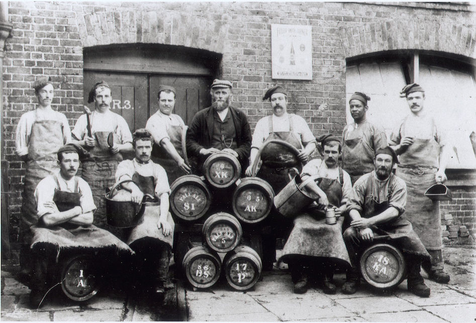 Fuller, Smith & Turner Brewery, the heavy hands.