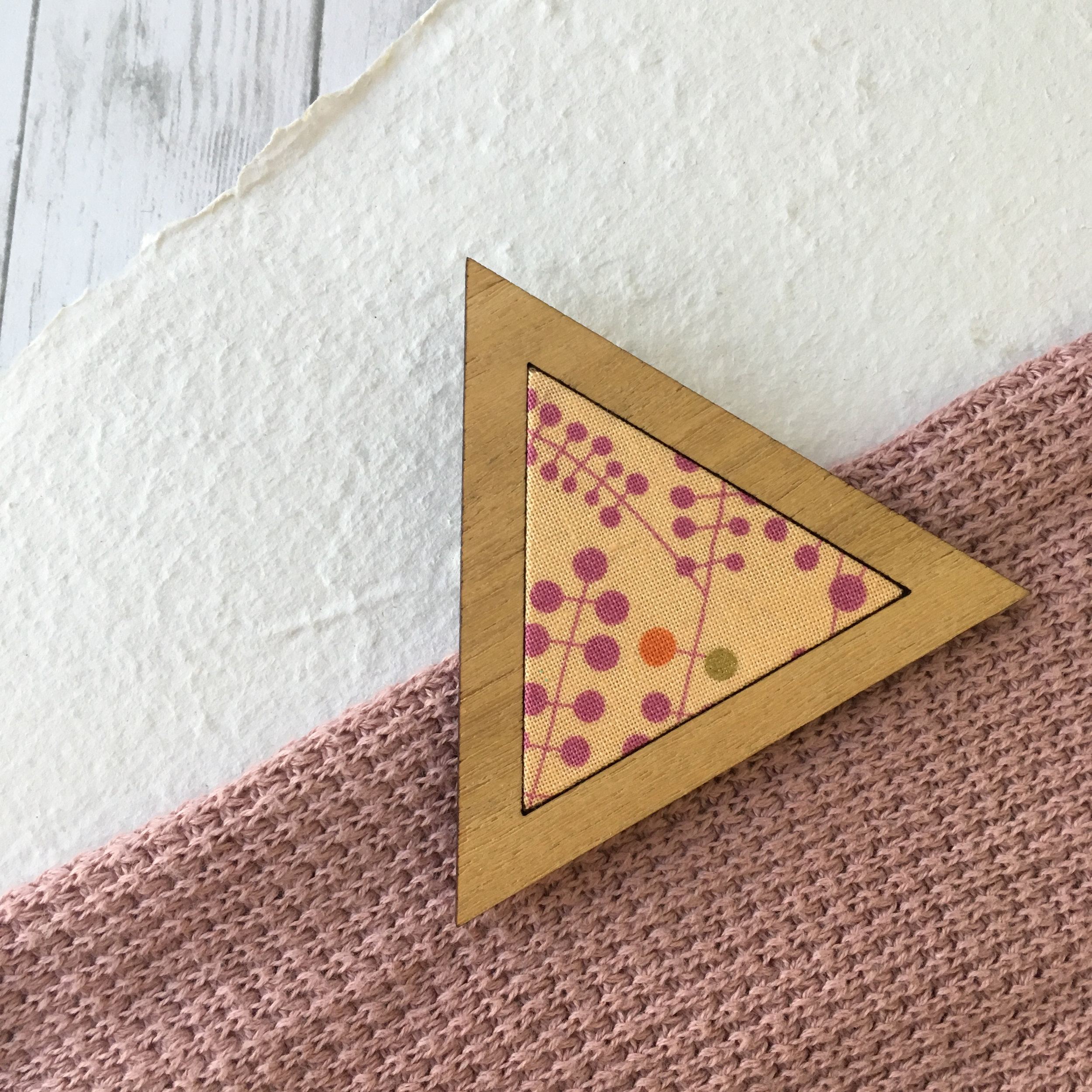 Jungle Orange - Triangle