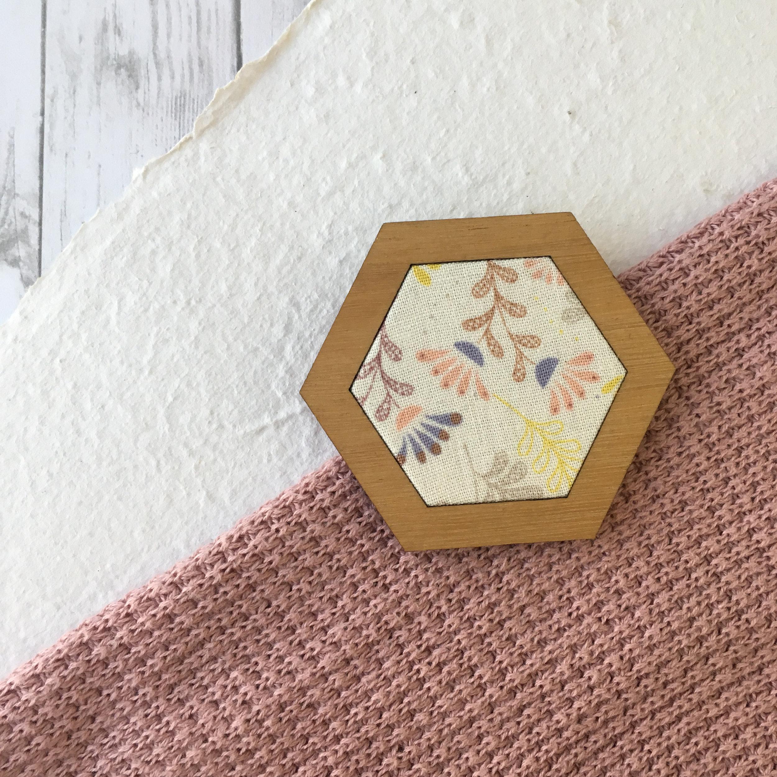 Flower Bud - Hexagon