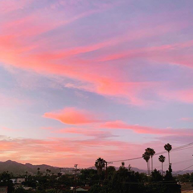 sunset v.73628✨ #clouds #sunset #patiolife