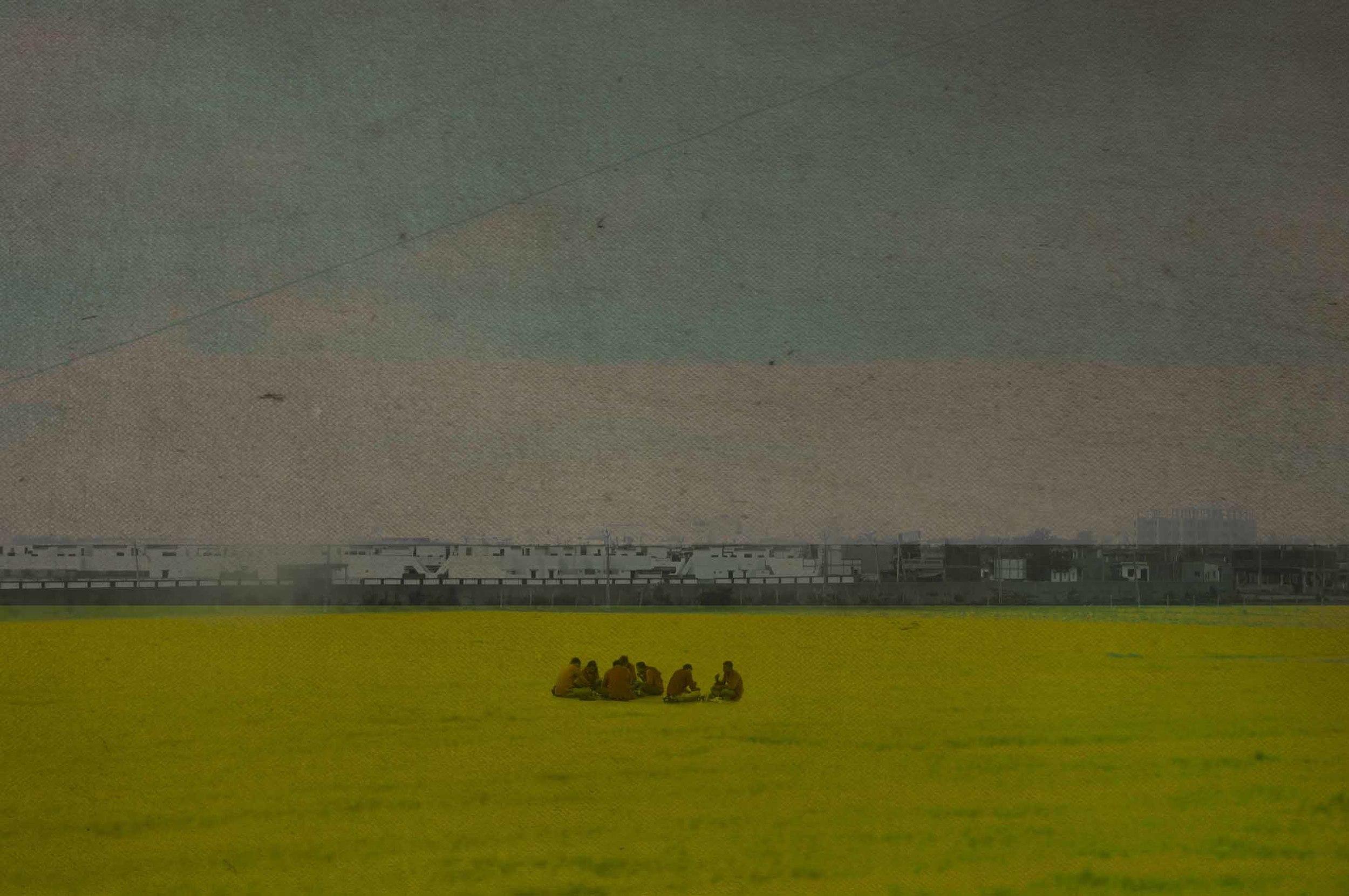 Field | Watercolor on paper