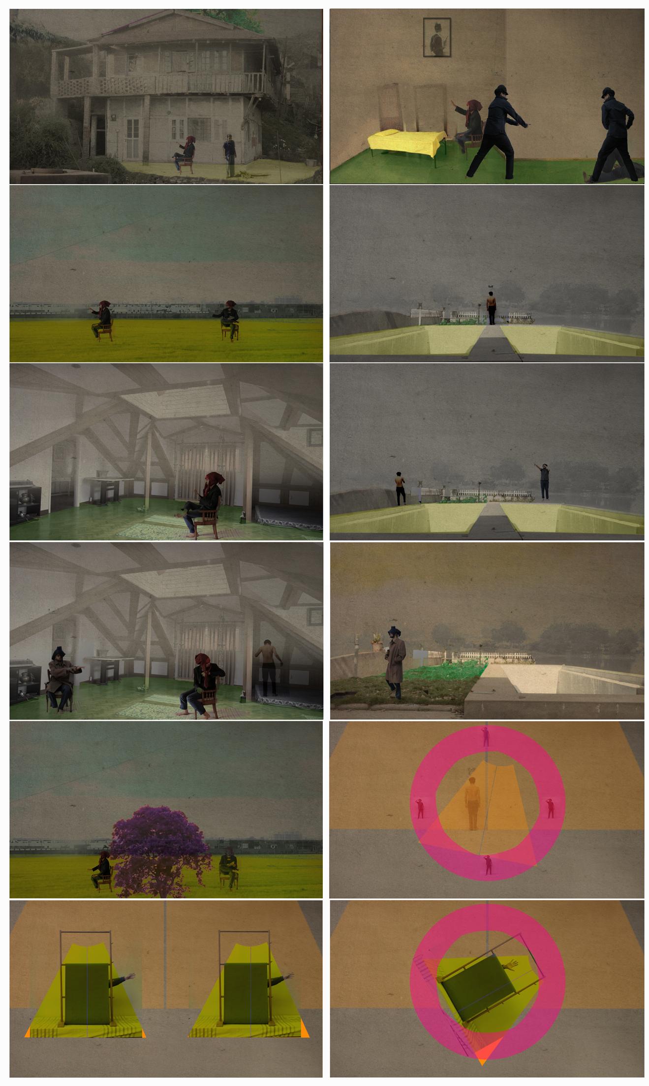 Untitled video stills | 2012-13