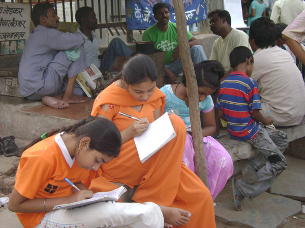 Children interacting with public, Stool project.jpg