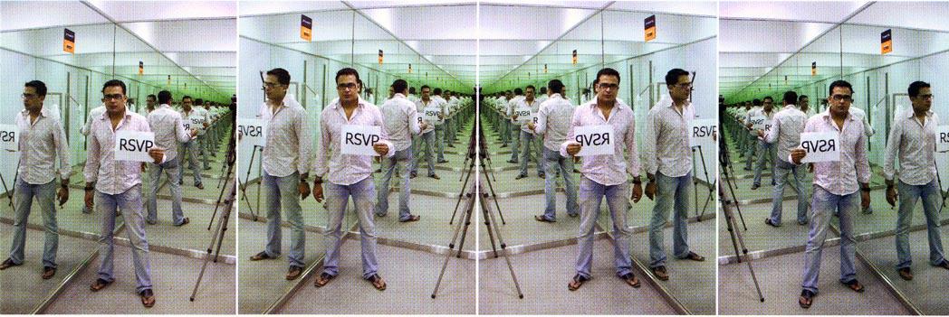 Jitish Kallat, RSVP(the closet march).jpg