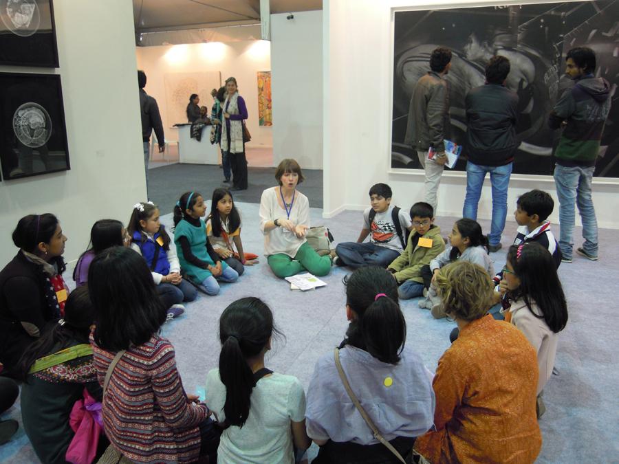 Art Detective at India Art Fair 2013