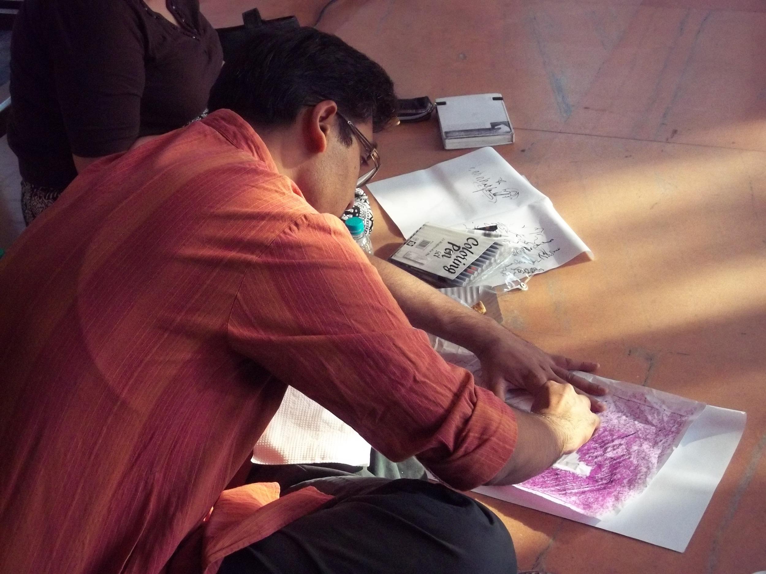 Drawing workshop by Manisha Parekh