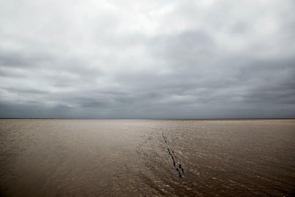 "Atul Bhalla  Inundation - III  Diasec mounted photograph  28"" x 42""  2012"