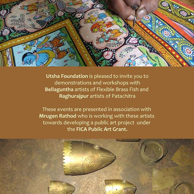 DEMO AND WORKSHOPS WITH BELLATUNGA AND RAGHURAJPUR ARTSTS