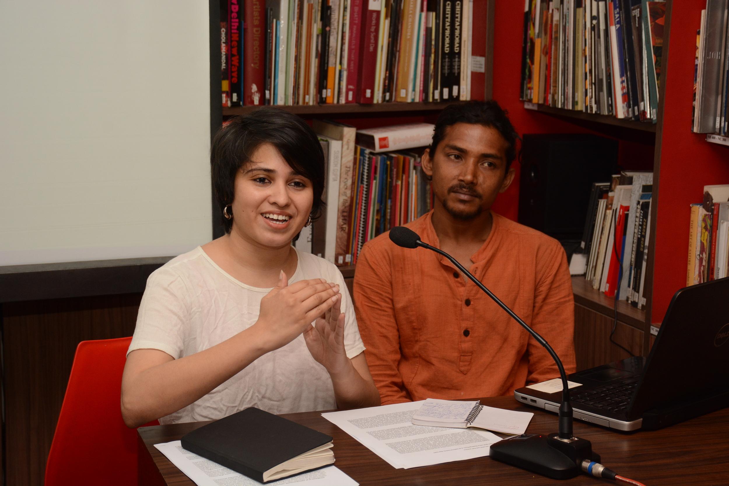 Akansha Rastogi and Sujith Mallick of WALA speak about their Kachra Seth project for PAG 2011