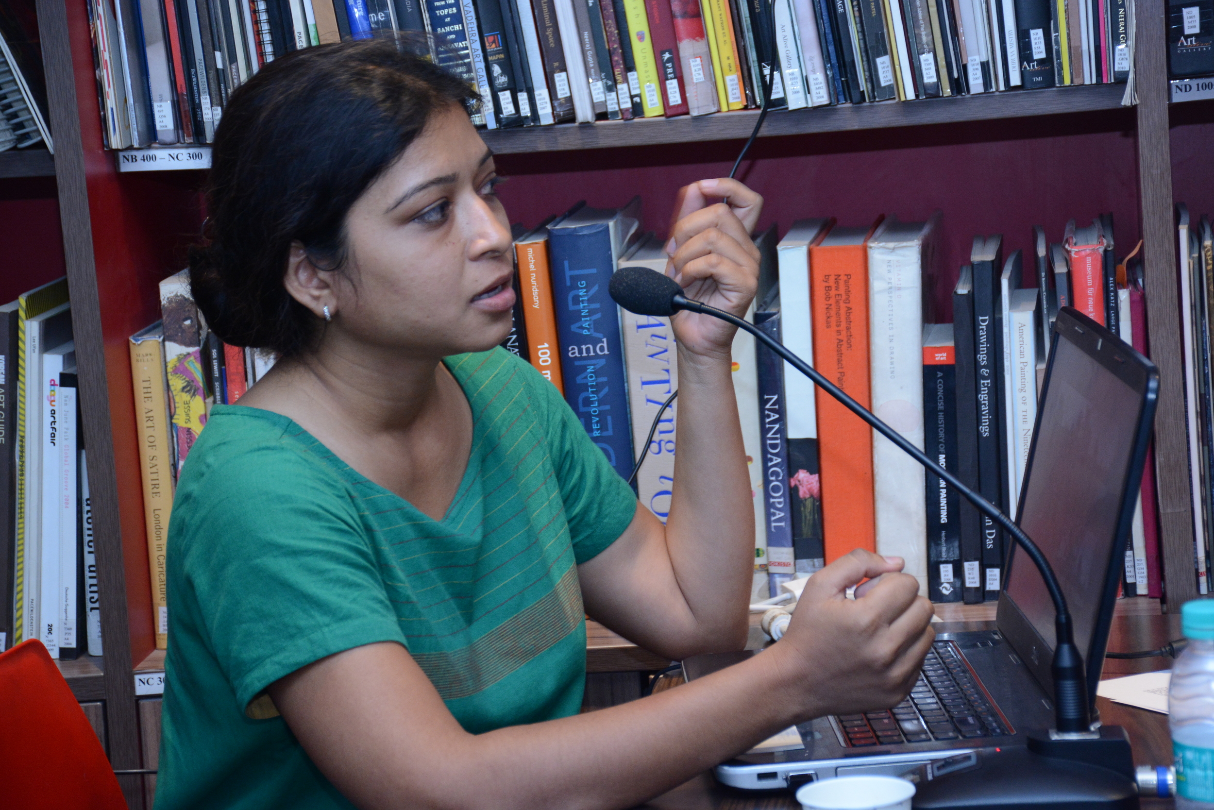 Shweta Bhattad, the PAG 2015 grantee, speaks on her new project Gram Dhara Chitra Utsav