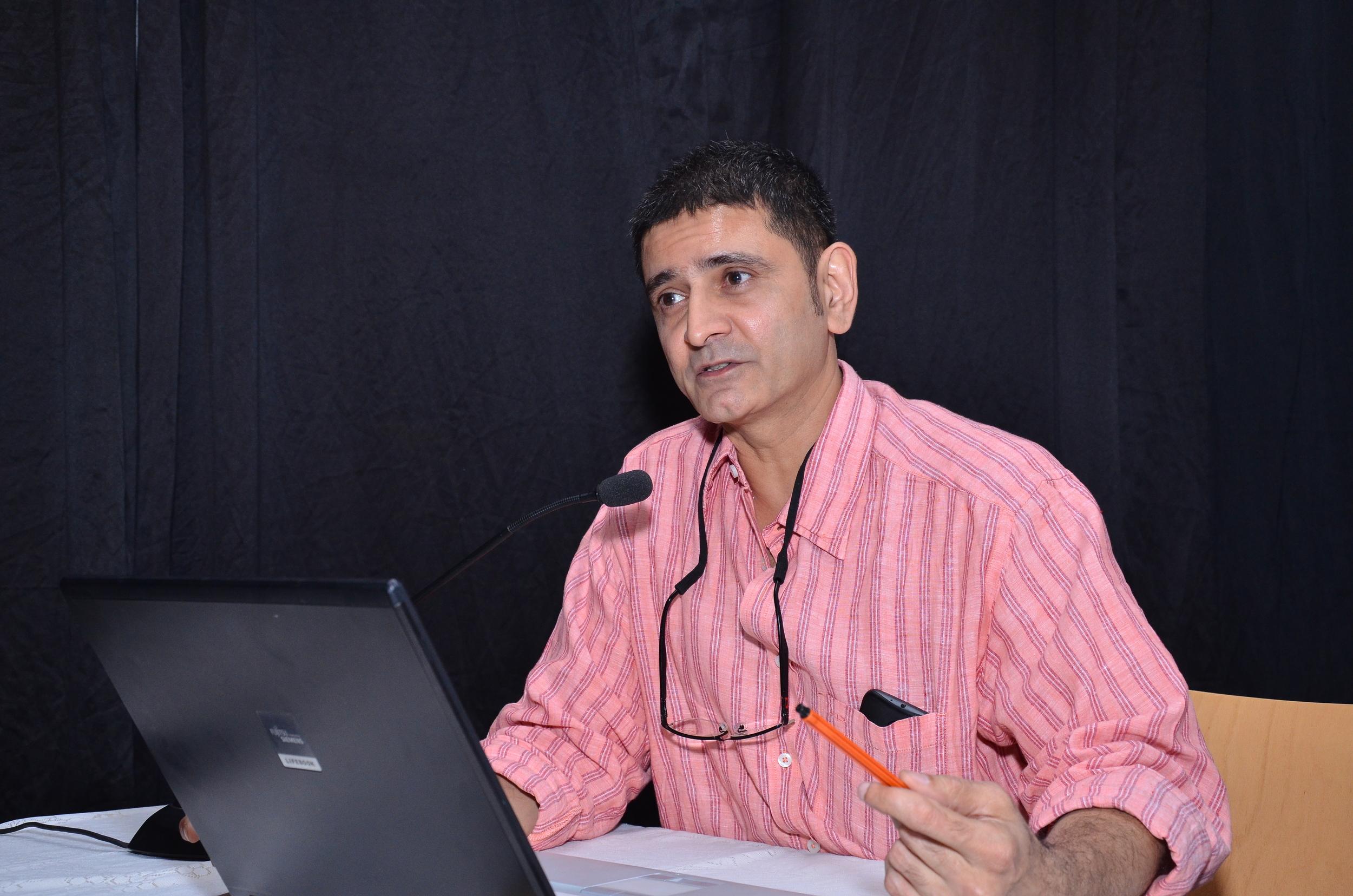 Panel 1: Speaker: Tushar Joag