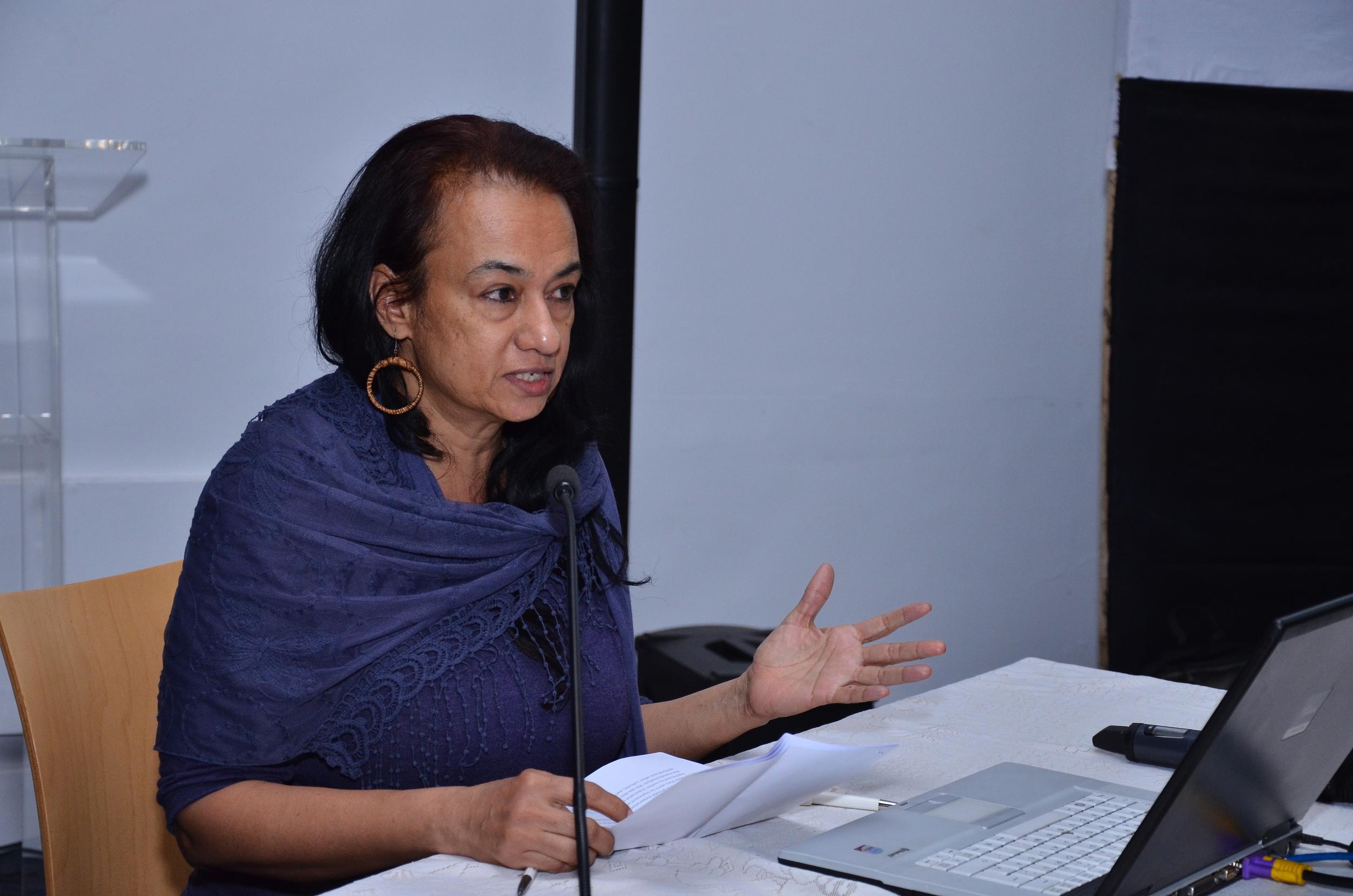 Panel 1: Speaker: Vasudha Thozhur