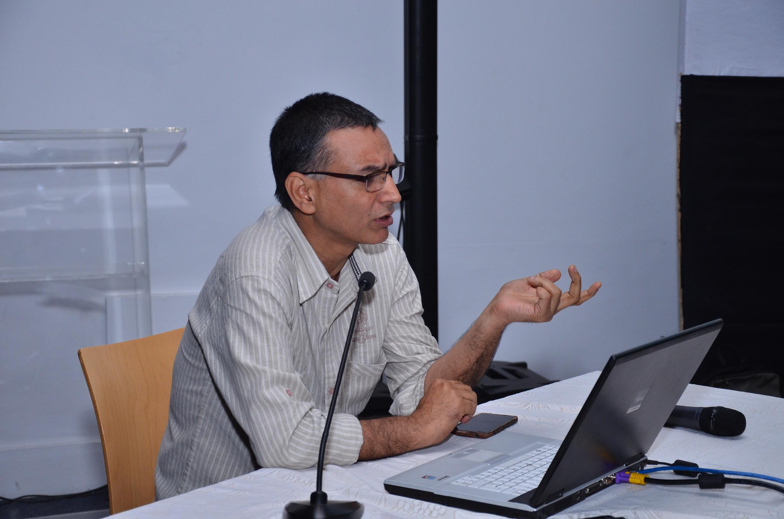Panel 1: Speaker: Inder Salim