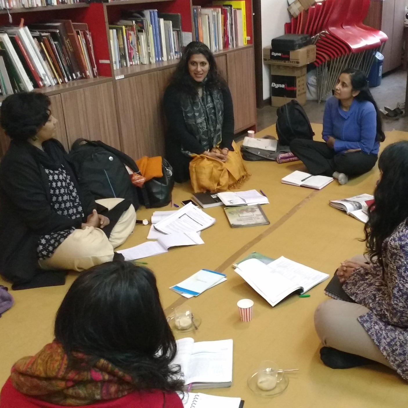 workshop with SARADA NATARAJAn