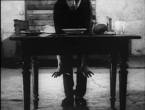 Image: A still from The Flat by Jan Švankmajer