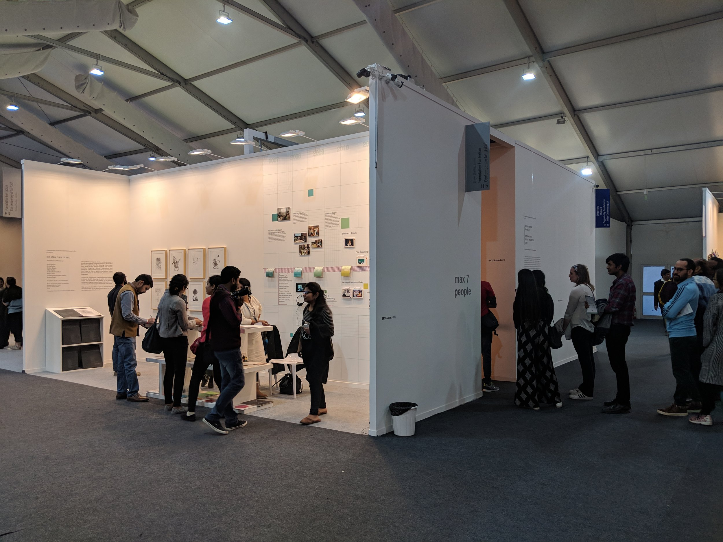 FICA booth and queue outside the Shadow 3 space.jpg