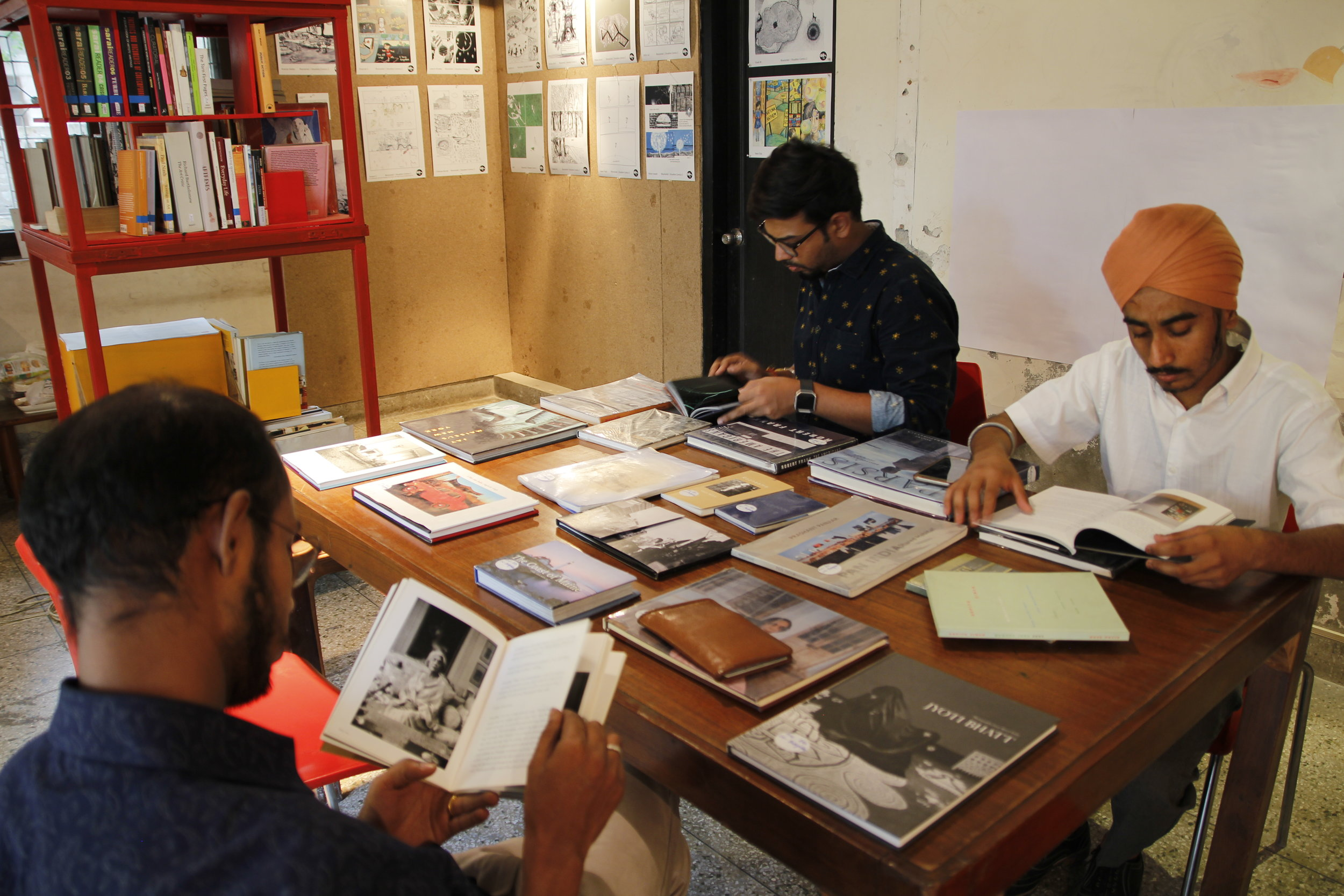 For the Love of Books: Discussion on artist books with Chandan Gomes, Dileep Prakash and Gagan Singh | C-13