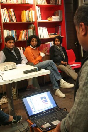 KHOJ-FICA ART TALKS | PRESENTATIONS BY THE RESIDENTS OF KHOJ PEERS 2011 PROGRAMME
