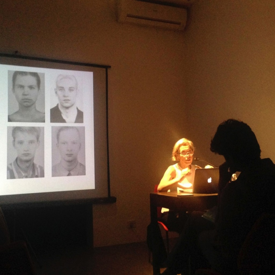 The staged and constructed image: talk by ruth rosengarten