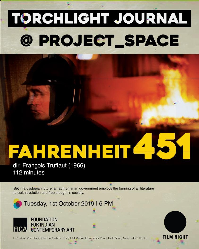 Fahrenheit 451 (1966) dir. françois truffaut   torchlight journal @ project space