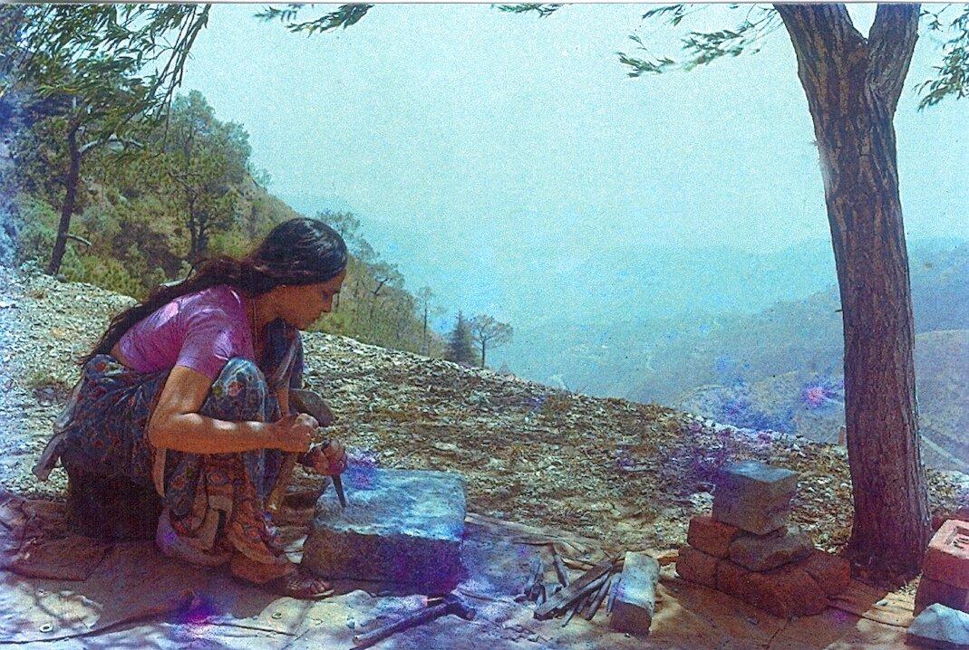 Meera Mukherjee, 1978, Kasauli.jpg