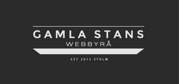 """LOGO FOR """"Gamla Stans webbyrå""""   www.gamla.nu"""