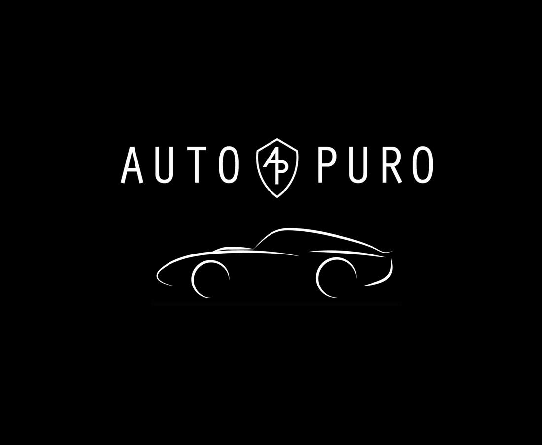"LOGO FOR ""AUTO PURO"" LUXURY & VINTAGE CAR RECONDITIONING"