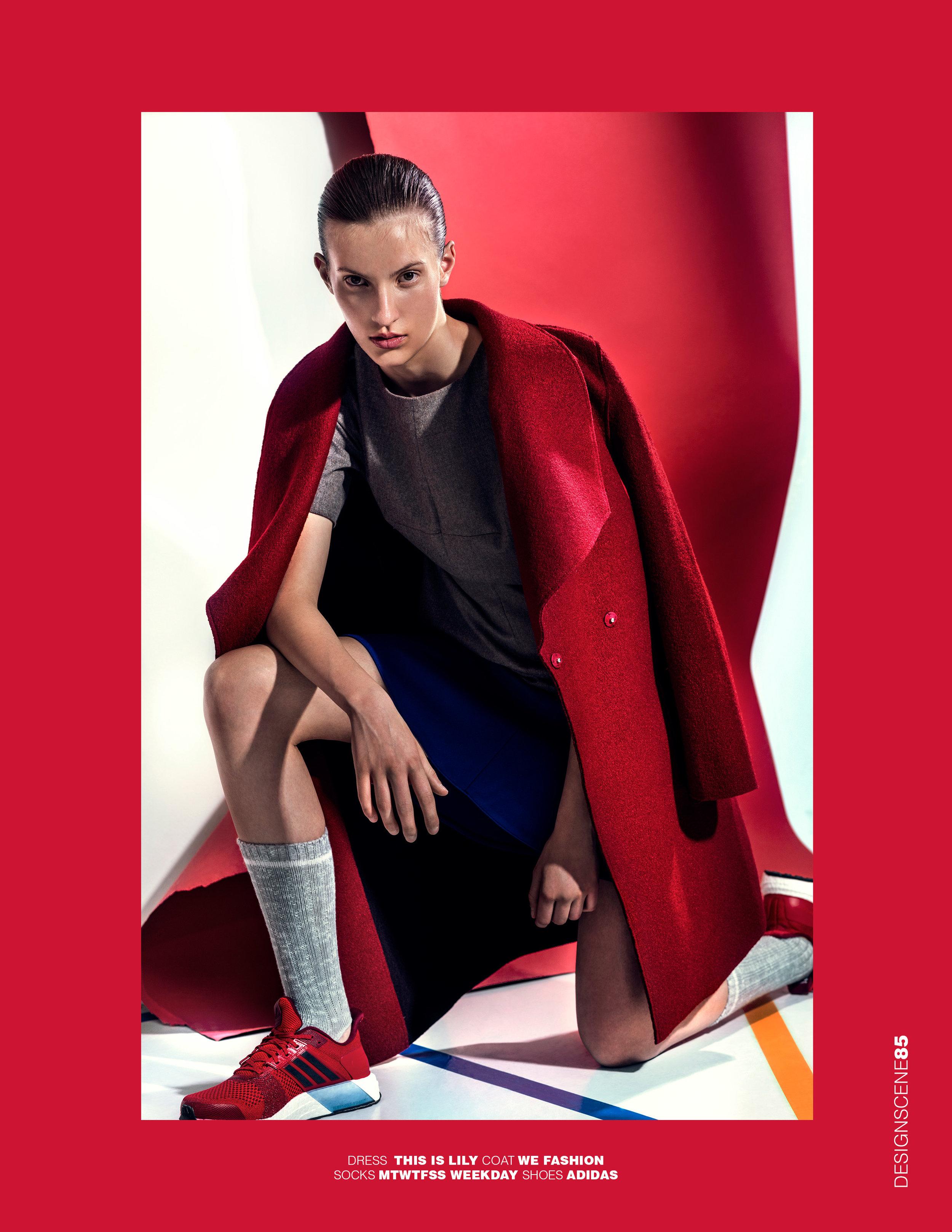 DESIGN SCENE | PHOTOGRAPHY Alek Bruessing | MUAH Mascha Meyer @ House of Orange | MODEL Silke @ Mischa Models
