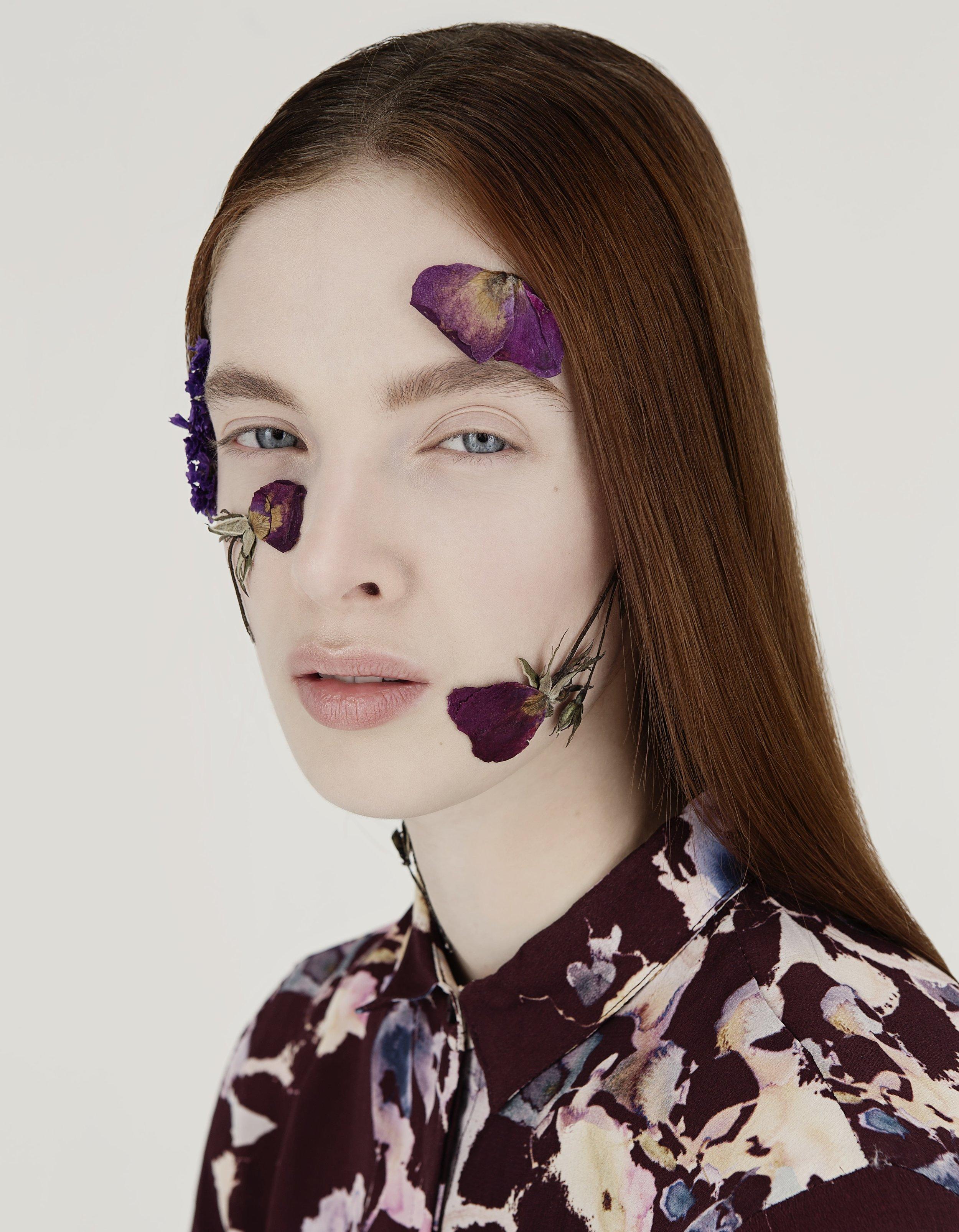 PHOTOGRAPHY Denise Boomkens @ Sticky Stuff   MUAH Alexandra Leijs   MODEL Gesine @ Micha Models