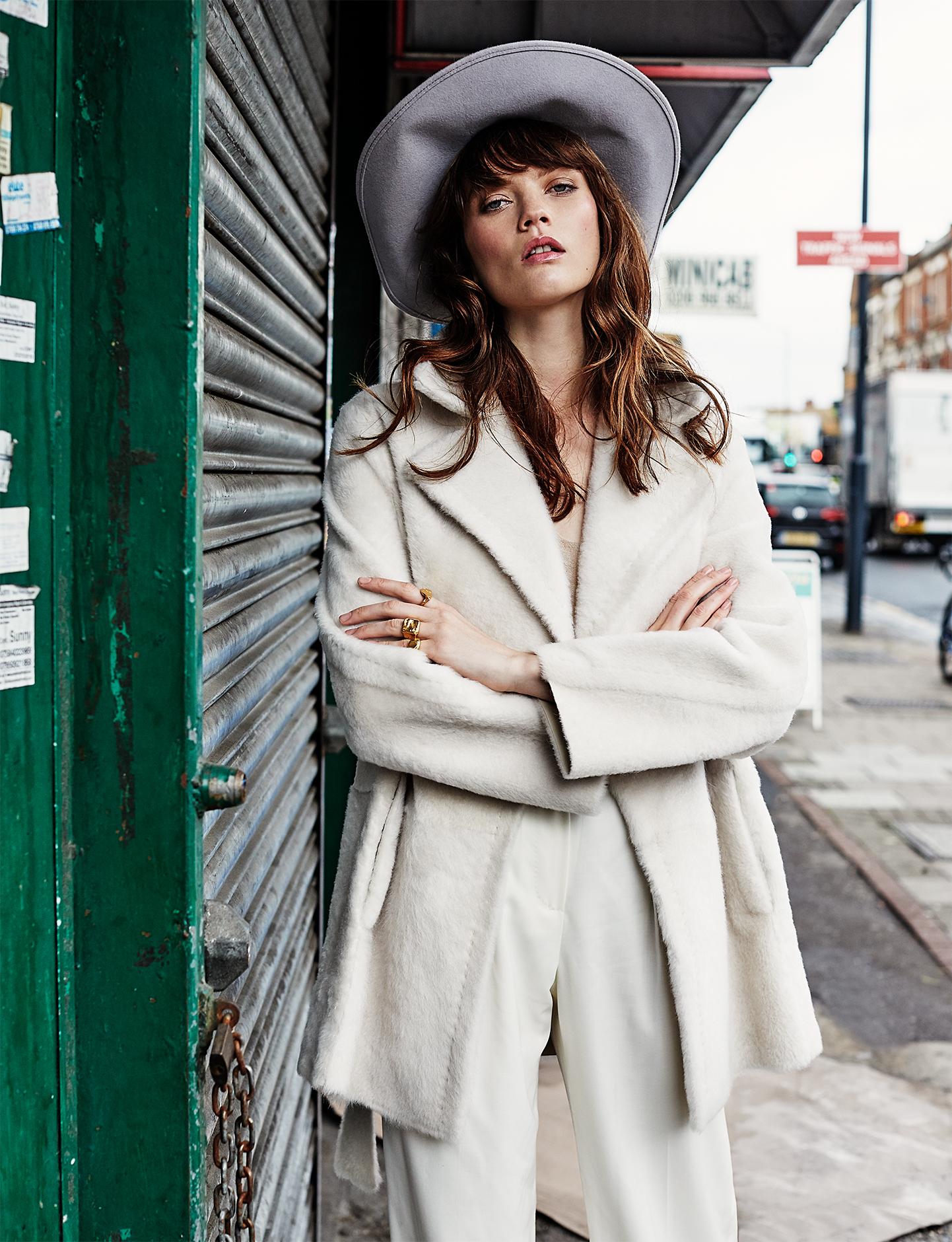ELLE CROATIA | PHOTOGRAPHY Paul Berends @ EE AGency | MUAH Pascale Hoogstraate @ EE AGency | Model Grace Anderson @ Premier Models