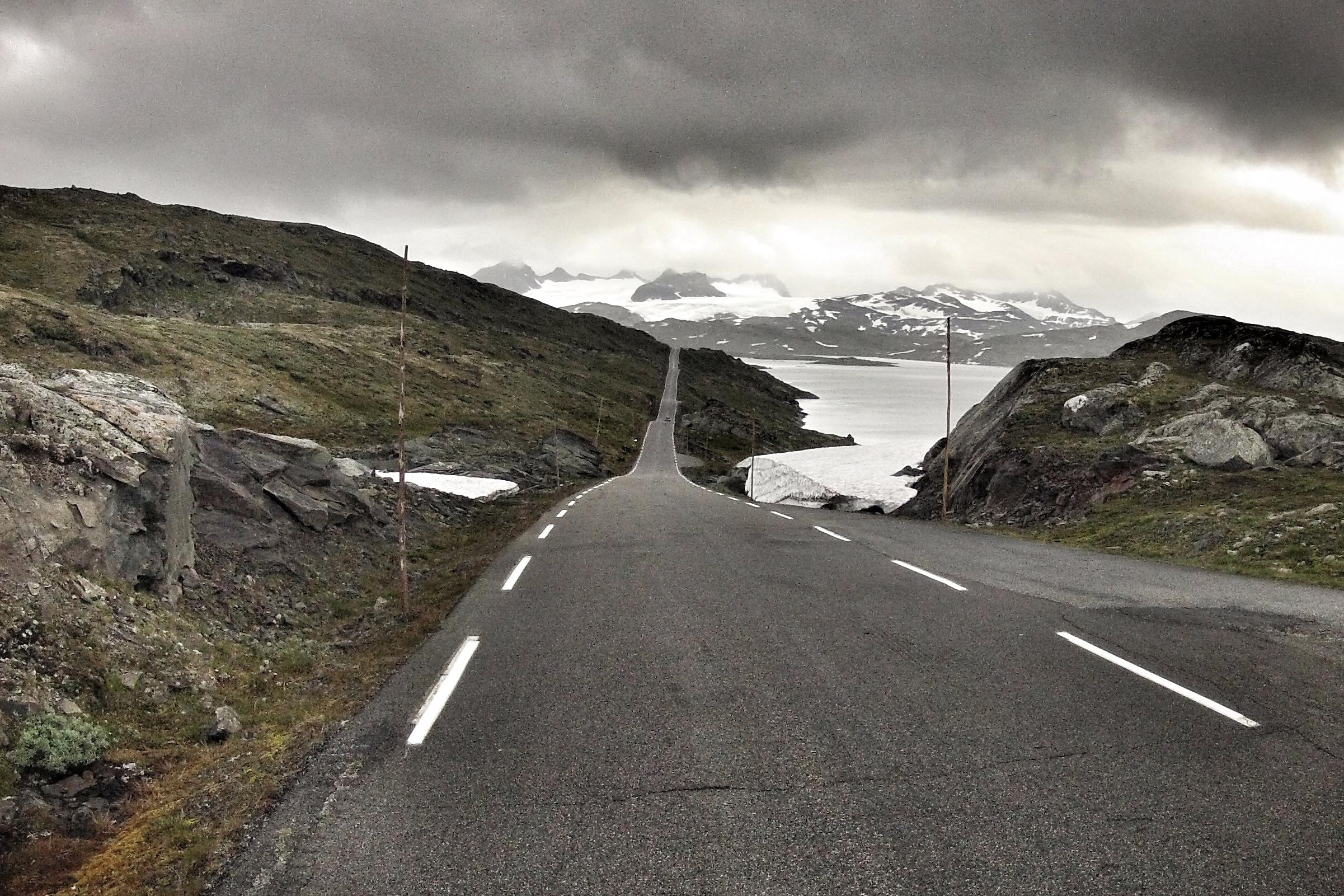 Sognefjellet, retning mot Bøverdalen og Lom