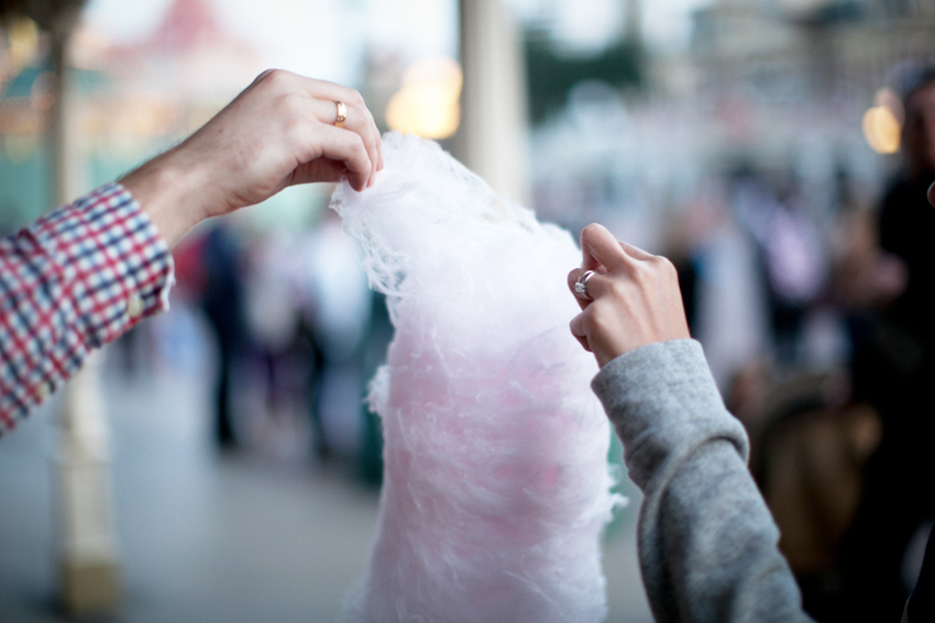 Disneyland Paris cotton candy