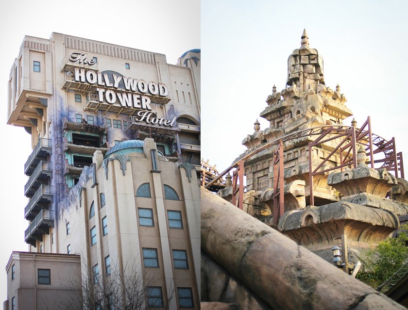 Disneyland Paris rides