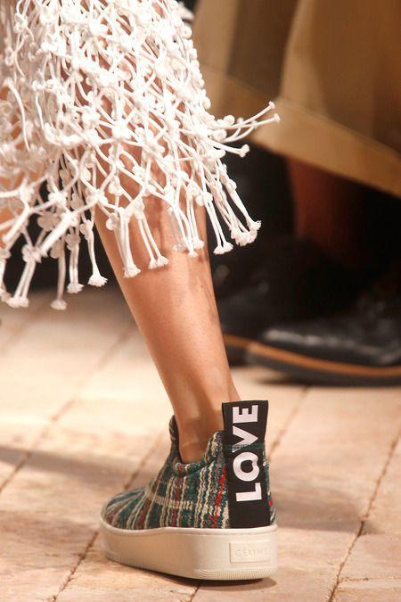 Celine love slip on shoes