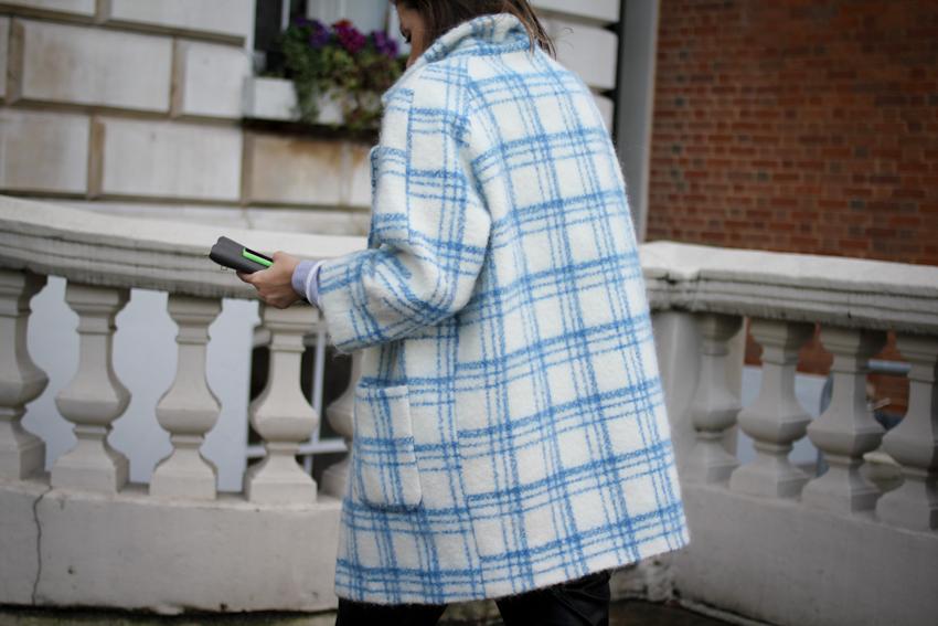 Jennifer Inglis in Ganni AW14 coat
