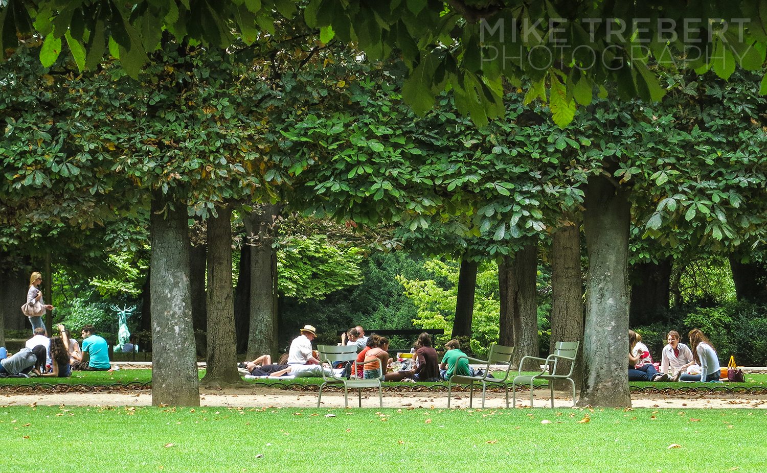 Sunday afternoon in The Luxembourg Gardens.