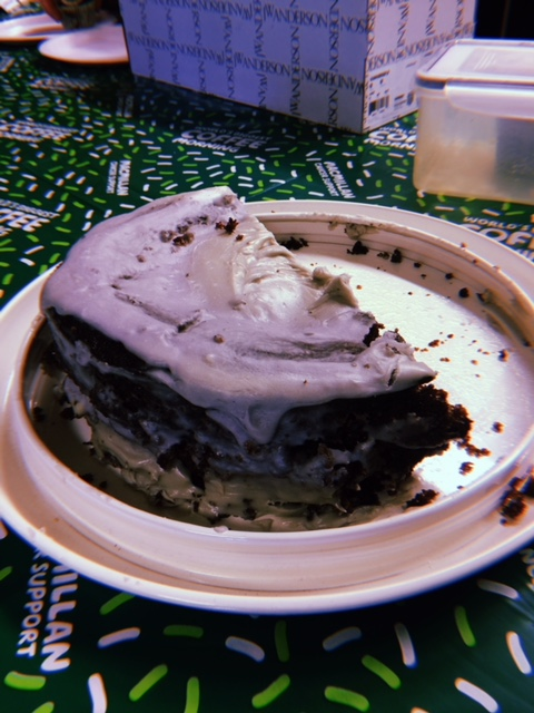 Becky's London Fog Cake… Which was a cake-tastrophe!