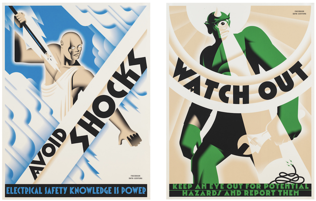 With a great  blog!  And these posters have that triangle cross bar. Oh yeah!