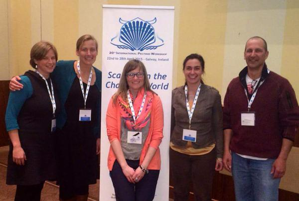 Maine representatives L-R Skylar Bayer, Caitlin Cleaver, Trish Cheney, Carla Guenther, and Dana Morse