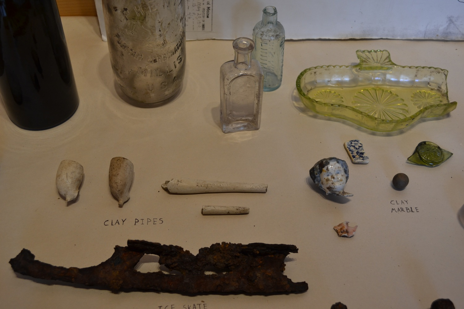 Assorted artifacts found on Hurricane